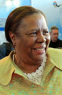 Naledi Pandor South African politician