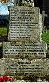 Names on Bow War Memorial - geograph.org.uk - 1584513.jpg