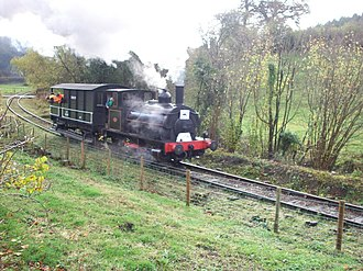 Tanat Valley Light Railway - Image: Nantmawr 1827