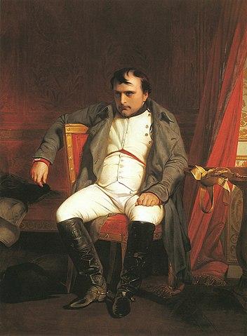 После отречения во дворце Фонтенбло. Деларош (1845)