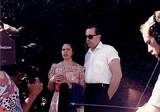 Natalie Merchant - The period featuring Merchant was the most critically and commercially successful for 10,000 Maniacs. She is seen here with Rob Buck during that time.