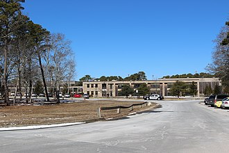 Nauset Regional High School - Image: Nauset Regional High School, March 2014