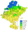 Navarra - Mapa densidad euskera 2001.png