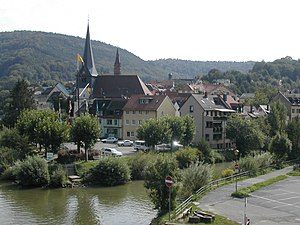 Neckargemünd - View of the town