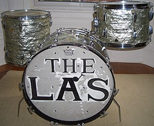 The La's - Neil Mavers' Ludwig drum set used during his time in The La's.