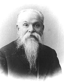 Pavel Nekrasov (1853—1924) — Russian mathematician, Rector of the Imperial University of Moscow.