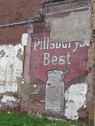 Pillsbury Company - A Pillsbury ghost sign in New Kensington, Pennsylvania.