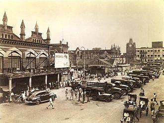New Market, Kolkata - New Market circa 1945