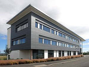 Exeter Science Park - The first building to be completed at Exeter Science Park
