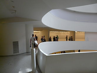 Solomon R. Guggenheim Foundation - The Guggenheim's gallery – part of the spiral ramp