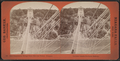 New suspension bridge from Elevator Tower, Niagara, by Barker, George, 1844-1894.png
