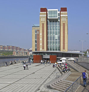 The Boat Race of the North - Gateshead's Baltic Square is where the after-race presentations are held.