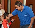 Niños ganadores de las Olimpiadas Especiales Intercantonales visitaron al Alcalde (11106413675).jpg