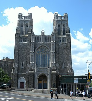 Fordham Road - St Nicholas of Tolentine Church