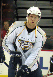 Nick Spaling Canadian ice hockey player
