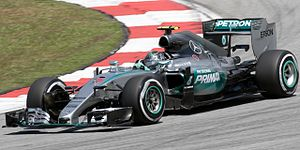 Factory-backed - Mercedes AMG Petronas are a successful factory team in Formula One.