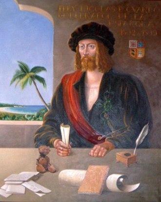 Nicolás de Ovando y Cáceres - Image: Nicolás de Ovando y Cáceres