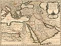 Nicolas Sanson. Estats de l'Empire du Grand Seigneur des Turqs ou Sultan des Ottomans. 1654.jpg