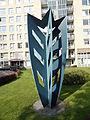 Nijmegen - Sculptuur op de hoek van de Kronenburgersingel en de Stieltjesstraat.jpg