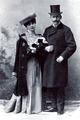 Nikolaus von Flondor und Helene von Grigorczea 1899.png