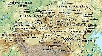 History of Mongolia - Rouran Khaganate