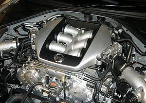 Nissan VR engine - Image: Nissan VR38DETT Engine