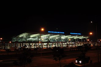 Taisei Corporation - Image: Noi Bai International Airport Terminal 2 Night View