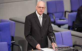 Norbert Lammert - Norbert Lammert in the German Bundestag, 2014