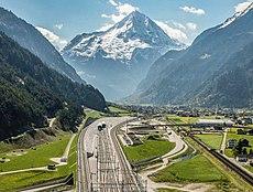 längster tunnel europas
