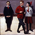 Norman Rockwell - Cousin Reginald Spells Peloponnesus (Spelling Bee) - Google Art Project.jpg