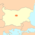 North Bulgarian Corriedale areal of distribution.PNG