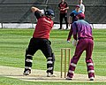 North Middlesex CC v Hampstead CC at Crouch End, Haringey, London 15.jpg