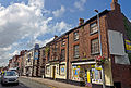 North side of Chestergate, Macclesfield, looking west from Churchill Way.jpg