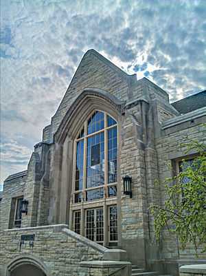 Northern Illinois University - Swen Parson Hall - Northern Illinois University College of Law