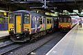 Northern Rail Class 150s, Manchester Victoria railway station (geograph 4512933).jpg