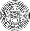 Official seal of Nový Hrozenkov