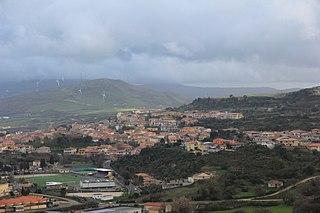 Nulvi Comune in Sardinia, Italy