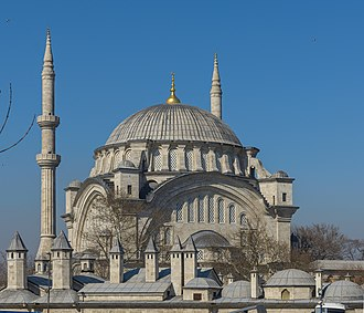 Ottoman Old Regime - The Nuruosmaniye Mosque in Istanbul, constructed between 1749 and 1755.