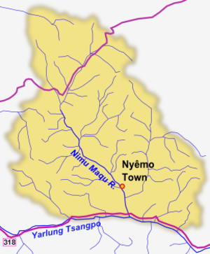 Nyêmo County - Rivers of the county
