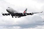 OO-THD Boeing 747-400F Emirates Skycargo (14787310252).jpg