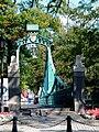 OPOLE most dla pieszych na kanale Młynówka , wejście od Piastowskiej. sienio.jpg