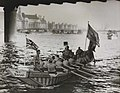 Oarsmen bringing the Olympic Flag, London, 1948. (7649953560).jpg