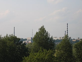 Obninsk - View of the former Obninsk Nuclear Power Plant