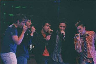 Plus One (band) - Plus One performing their Obvious Tour in 2002