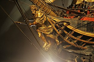 Figurehead (object) - Figurehead of the ''Océan''.