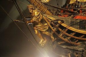 French ship Océan (1790) - Figurehead of the Océan.