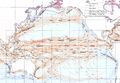 Ocean currents 1943 for colorblind Pacific.png