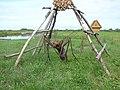 Oda skulptūras makets pie mājas Zvejnieki Īdeņā, Nagļu pagasts, Rēzeknes novads, Latvia - panoramio.jpg