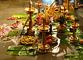 Offerings at a Hindu wedding.jpg