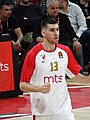 Ognjen Dobrić 13 KK Crvena zvezda EuroLeague 20191010 (4).jpg